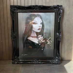 Gothic Illusion Framed Photo Wall Art Painting